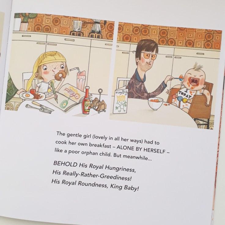 Storytelling in His Royal Tinyness A Terrible True Story Sally Lloyd Jones David Roberts Walker Books