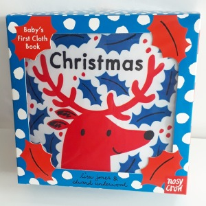 A Tiny Little Story Christmas Lisa Jones Edward Underwood Nosy Crow Babys first Christmas