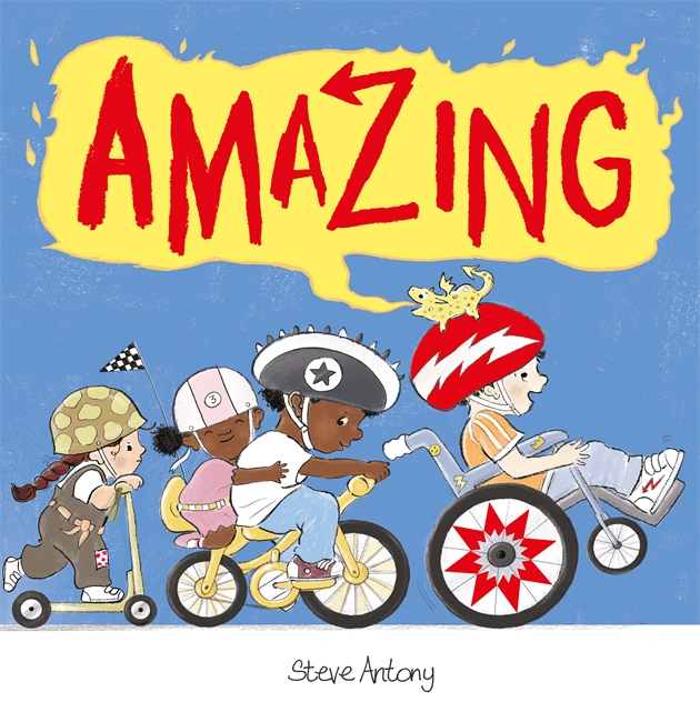 amazing by steve antony picture book main character with disability wheelchair user