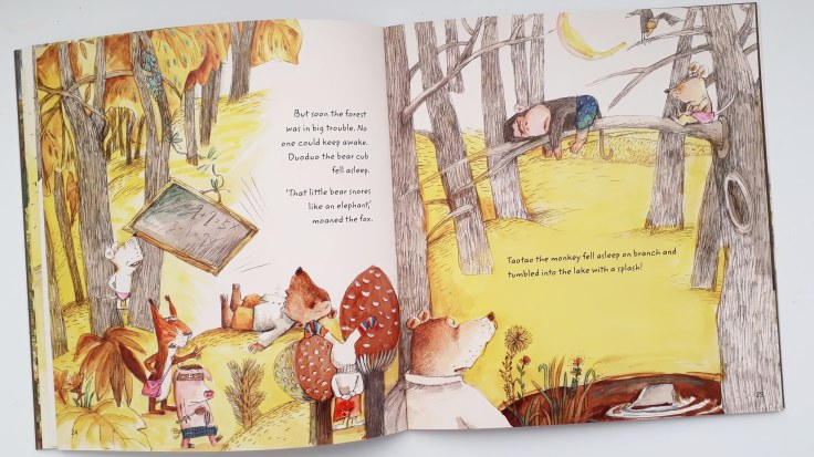 too much light in the elephant that ate the night by bing bai illustrations by yuanyuan shen publisher everything with words picture book bedtime story about being scared of the dark