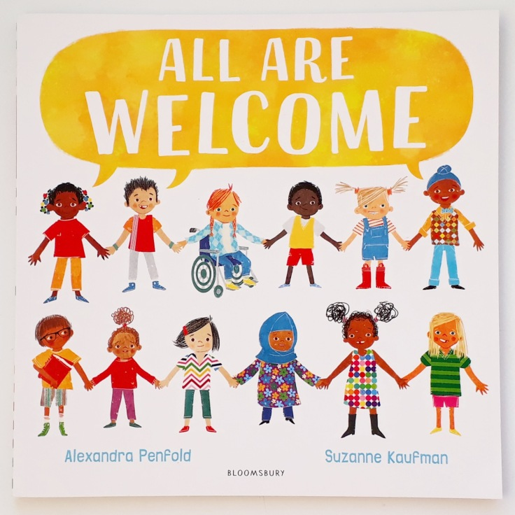 All Are Welcome Alexandra Penfold Suzanne Kaufman Bloomsbury diverse picture book