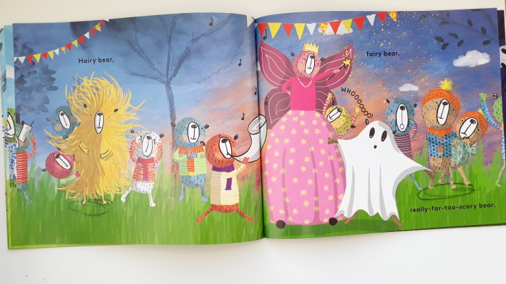 Hairy Bear Fairy Bear in This Bear That Bear Sian Wheatcroft rhyming picture book Templar Publishing