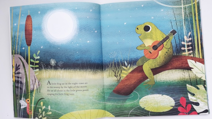 Singing to the moon in In the Swamp By the Light of the Moon by Frann Preston Gannon Templar Publishing