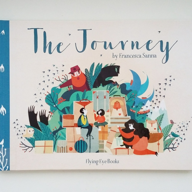 The Journey Francesca Sanna Flying Eye Books Refugee children picture book