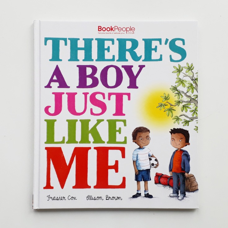 There's a Boy Just Like Me Frasier Cox Alison Brown Little Tiger Press refugee children's picture book