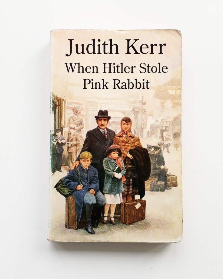 When Hitler Stole Pink Rabbit by Judith Kerr Harper Collins refugee childrens chapter book