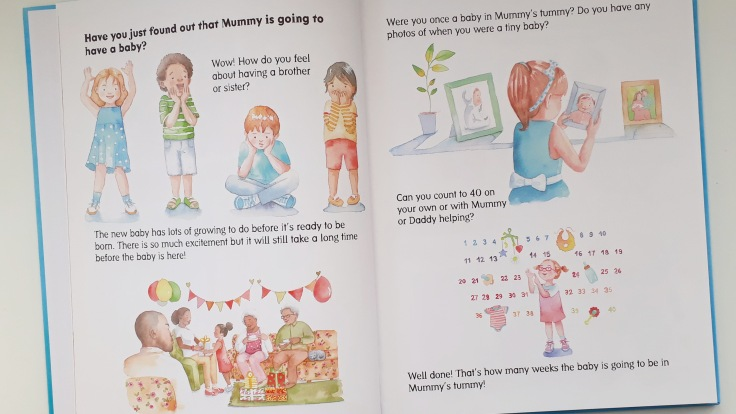 Older siblings feelings about new brother or sister Let's Talk to Mummy's Tummy by Helen Lacey illustrated by Carla Moreno Storychum Publishing new baby pregnancy children's picture book