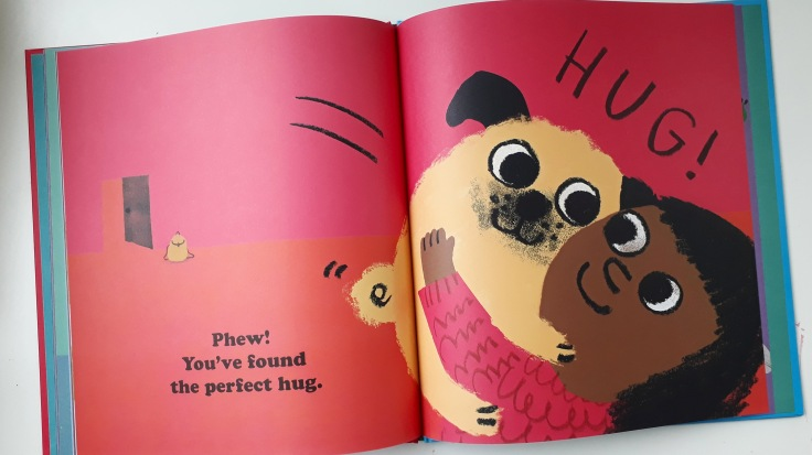 Pug Hug by Zehra Hicks Hodder Children's Books picture book diverse characters kids books