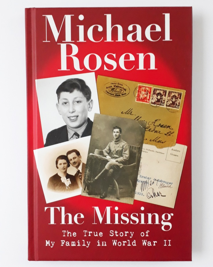 The Missing by Michael Rosen Walker Books Holocaust World War Two Kids Book