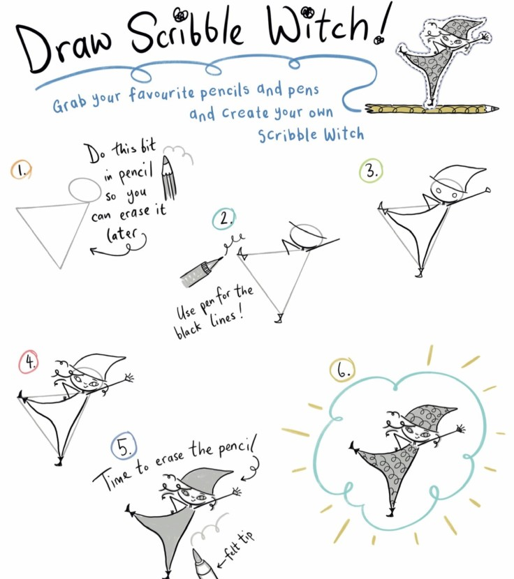 Scribble Witch How To Draw Inky Willis