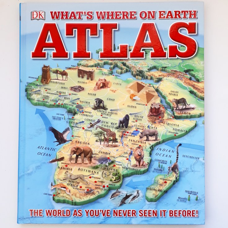 What's Where on Earth Atlas for kids DK Books children's non fiction